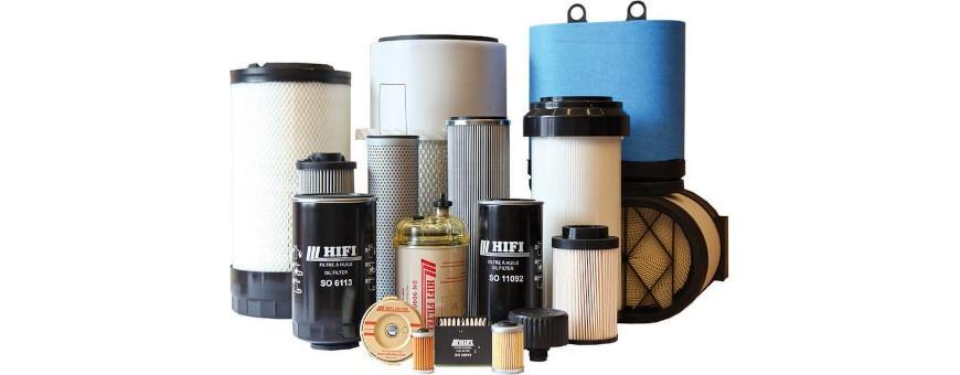 Filtry oleju, paliwowe, powietrza, hydrauliki, kabinowe | Danrol